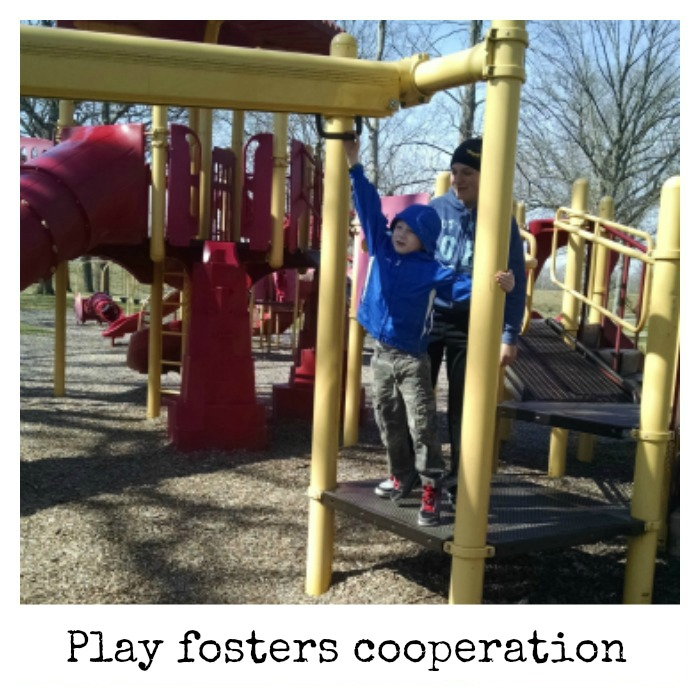 Play fosters cooperation