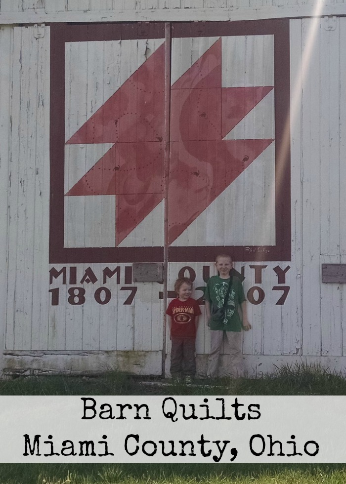 Barn Quilts Miami County, Ohio