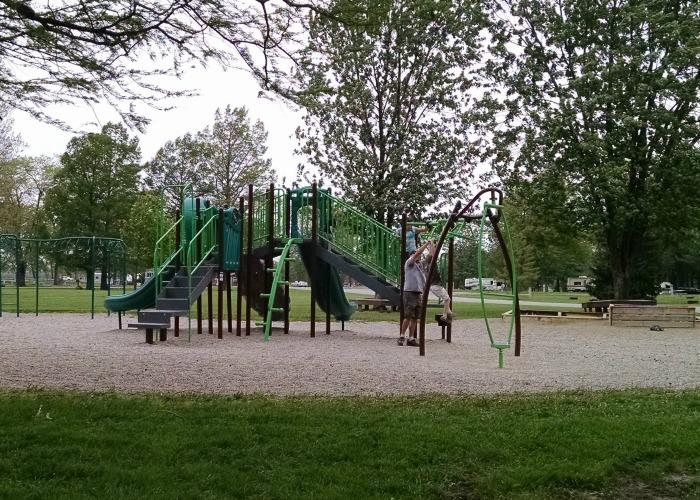 Lake Loramie State Park Campground playground