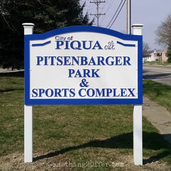 Pitsenbarger Sports Complex Sign