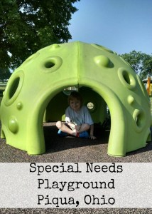 Special Needs Playground Piqua, Ohio