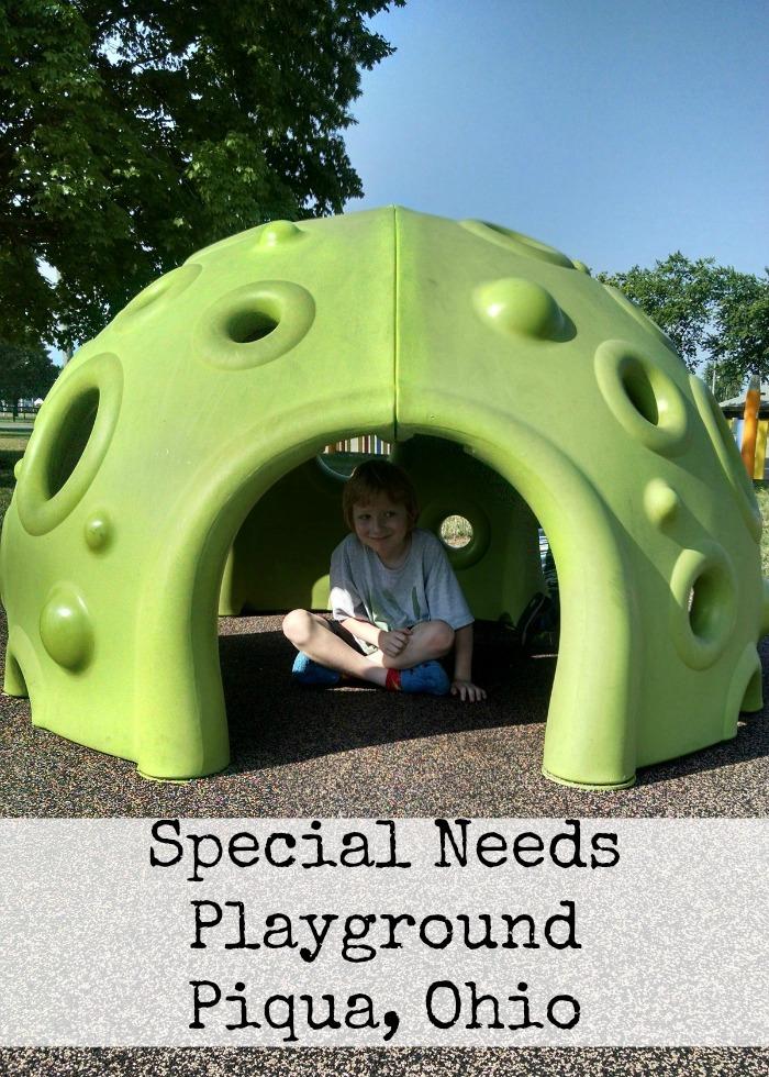 Special Needs Playground Piqua, Ohio
