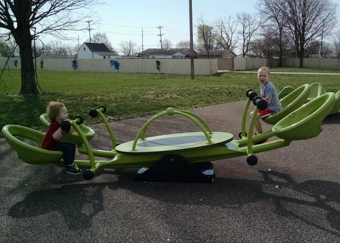 Special Needs Playground Teeter Totter