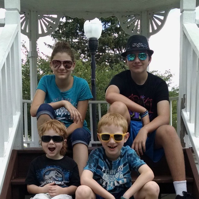 Kids wearing discountglasses.com sunglasses