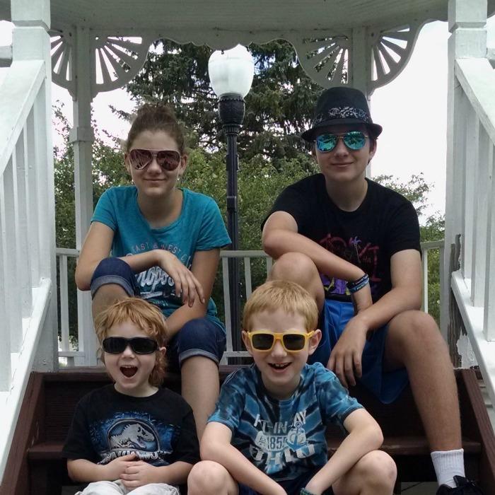 Kids wearing discountglasses.com sunglasses