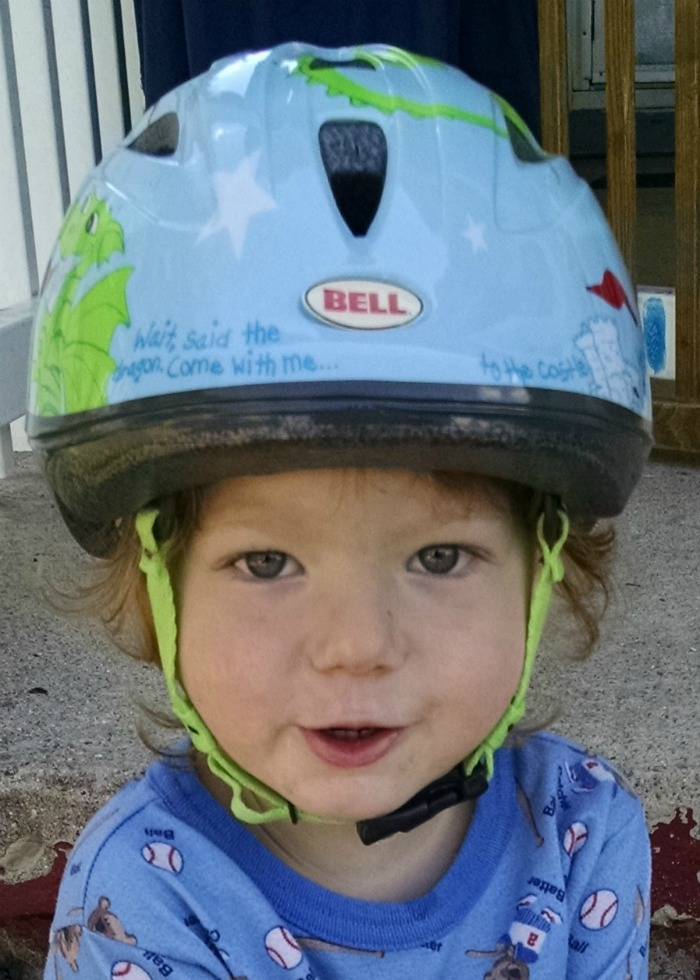 Lil' Red Bell Helmet