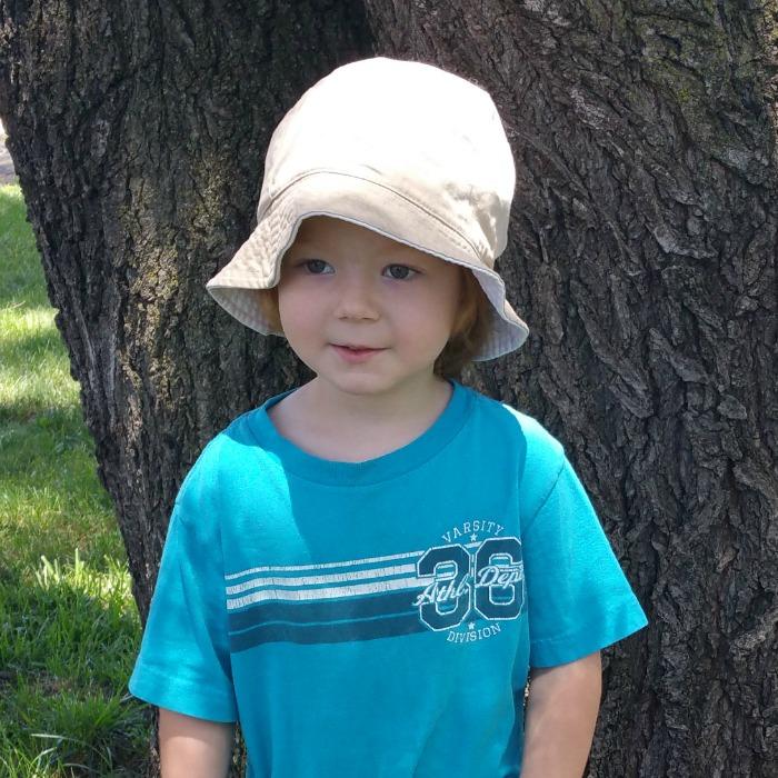 Lil' Red Bucket hat