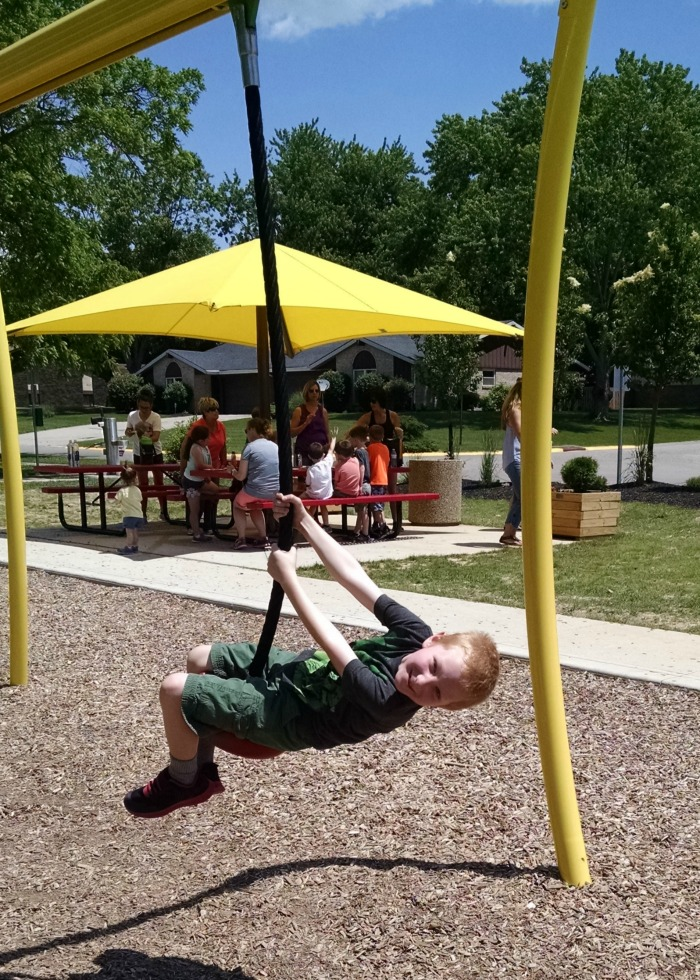 Shoup Park Zipline and Yellow Picnic area