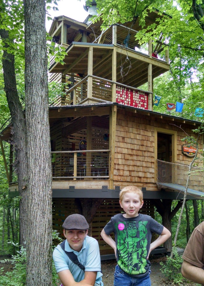 Treetop Outpost Treehouse