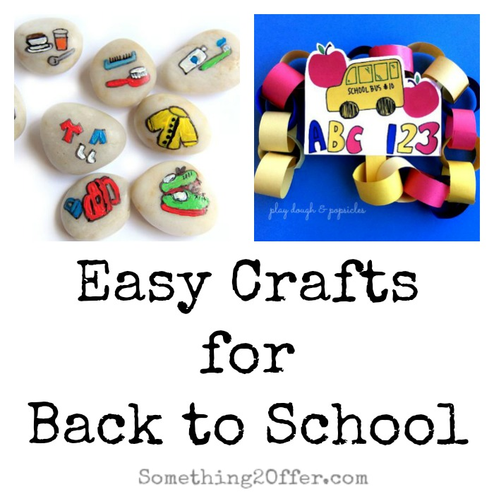 Crafts for Back to School