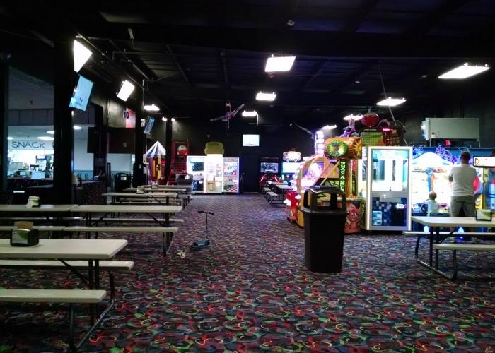 Ghostly Manor arcade