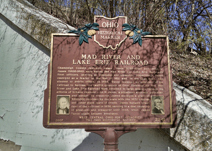 Mad River and Lake Erie Railroad