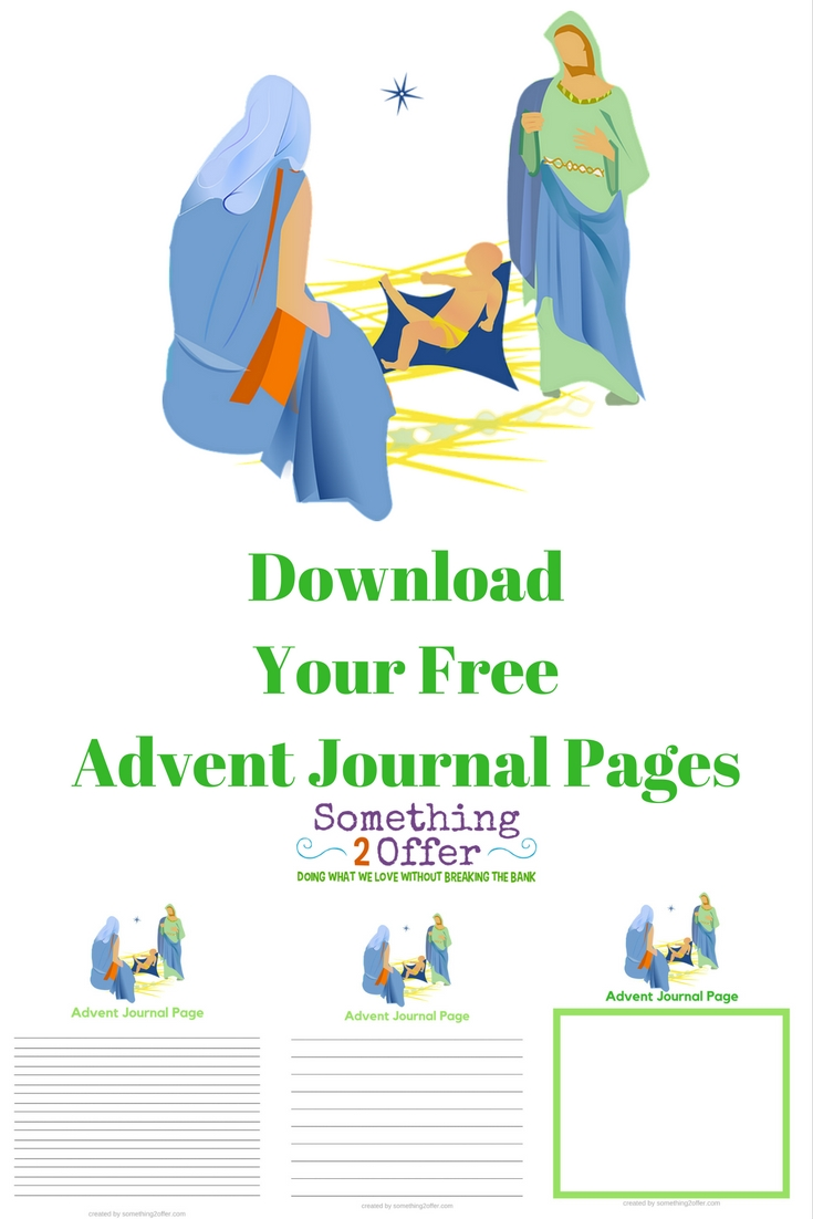 Download Your Free Advent Journal Pages
