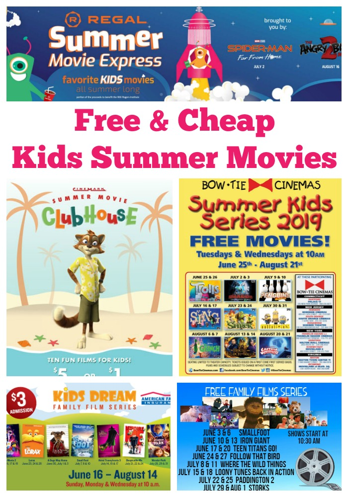 kids summer movies