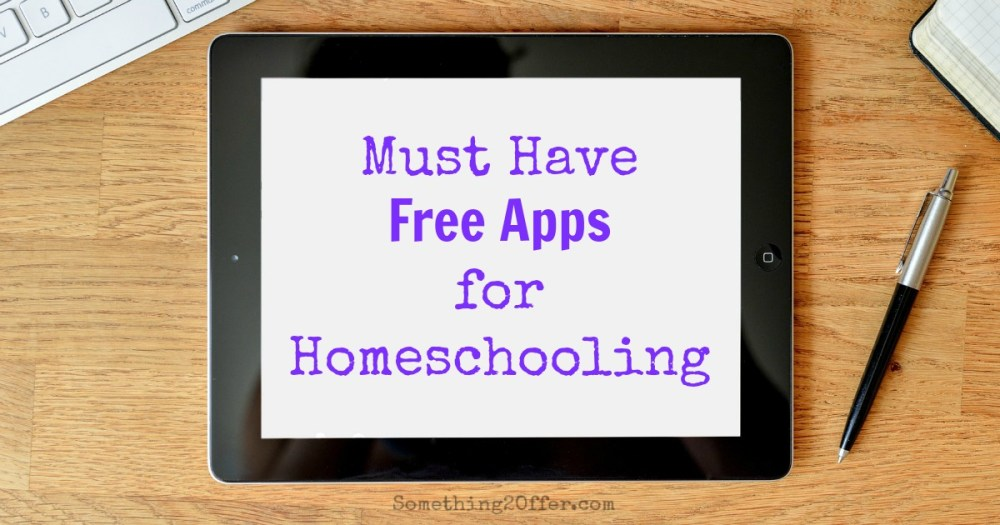 Free Apps for Homeschooling