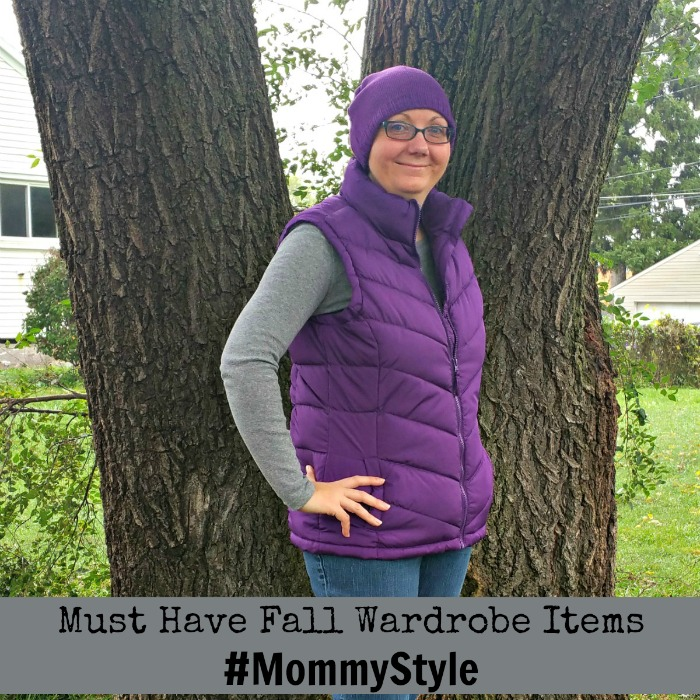 Must Have Fall Wardrobe Items #MommyStyle