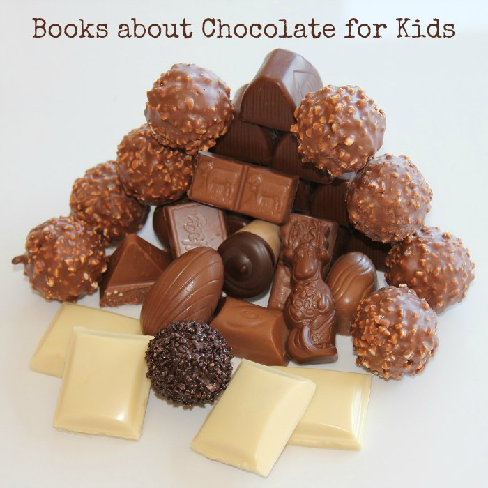 books chocolate kids