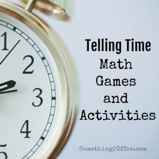 Telling Time Math Games