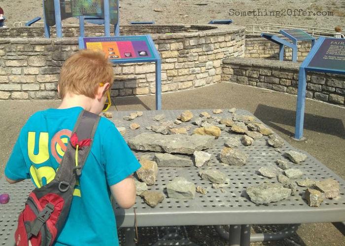 Trammel Fossil Park tables