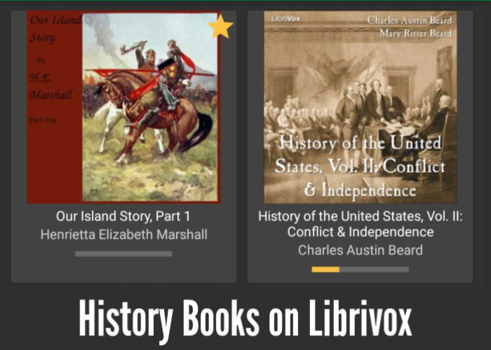 History Books on Librivox