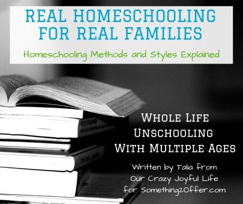 Real Homeschool Whole Life