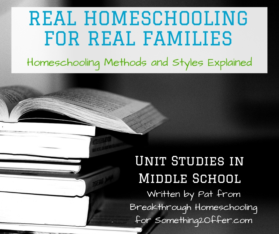 Real Homeschool unit studies middle