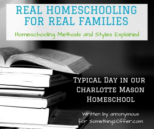 Real Homeschool CM typical day