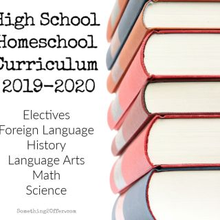2019-2020 High School Curriculum