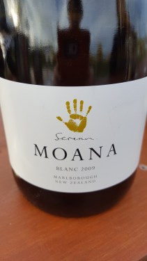 2009 Moana Sparkling; rich and complex with three years lees ageing giving gorgeous creamy mouth feel.