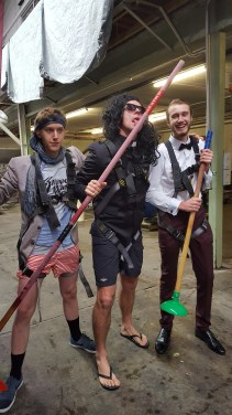 Sunday best plungers - or rockers? It's hard to tell.