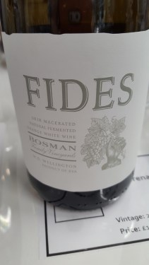 Bosman 'Fides' Grenache Blanc Wellington South Africa; Savoury, citrus, toast, cream and crisp, structured and interesting; £14
