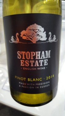 Stopham Estate Pinot Blanc West Sussex England; GREAT; greengage, chamomile, crisp and refreshing, lingers; £15