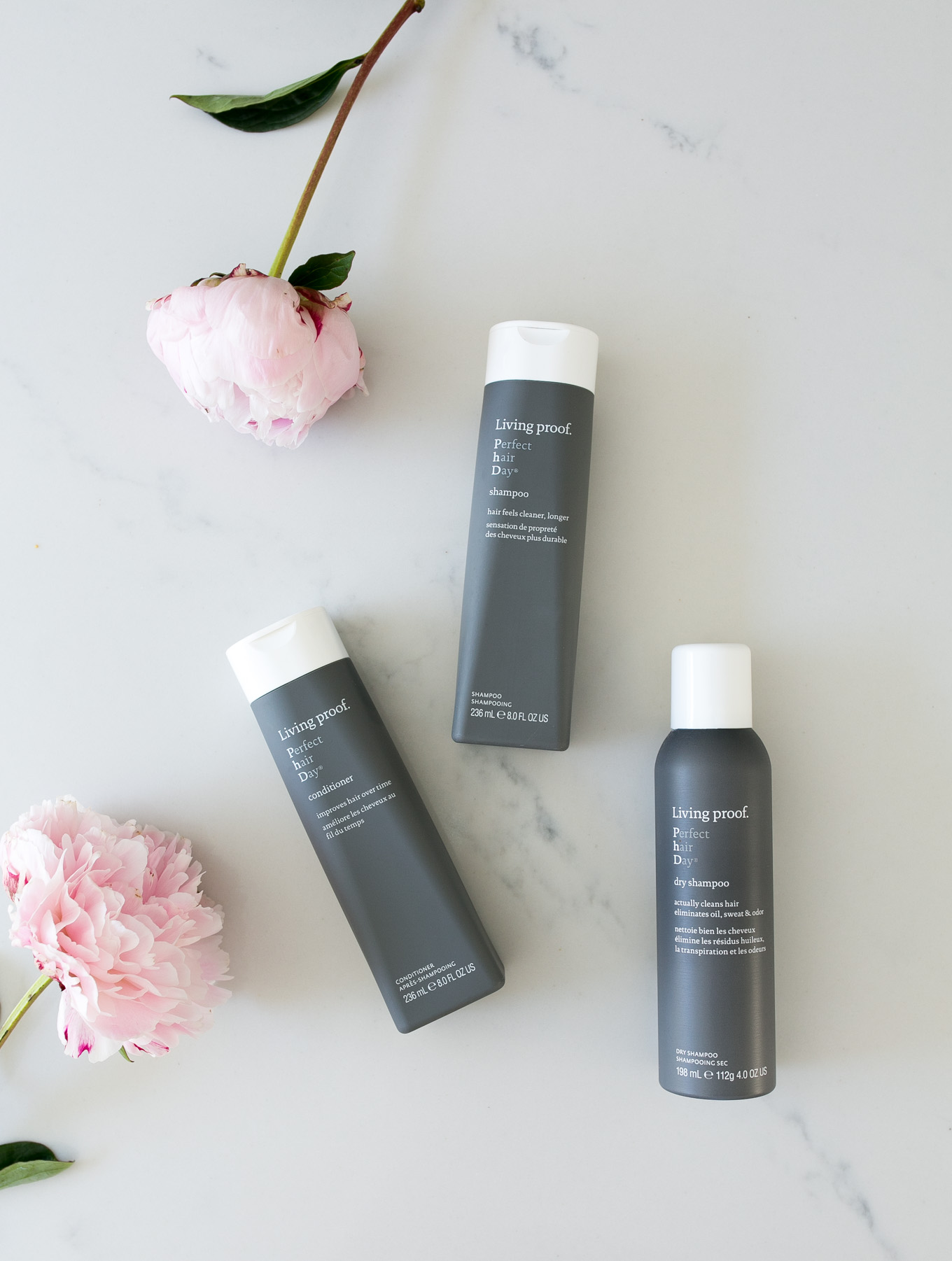 Blogger Daryl-Ann Denner of Something Beautiful shares her favorite hair care products including Living Proof Perfect Hair Day Shampoo and Conditioner and Dry Shampoo