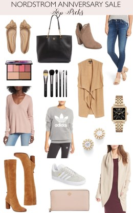 Daryl-Ann Denner shares her top picks from the Nordstrom Anniversary sale 2017 including Tory Burch handbags, Sam Edelman boots, cardigans, and AG jeans.