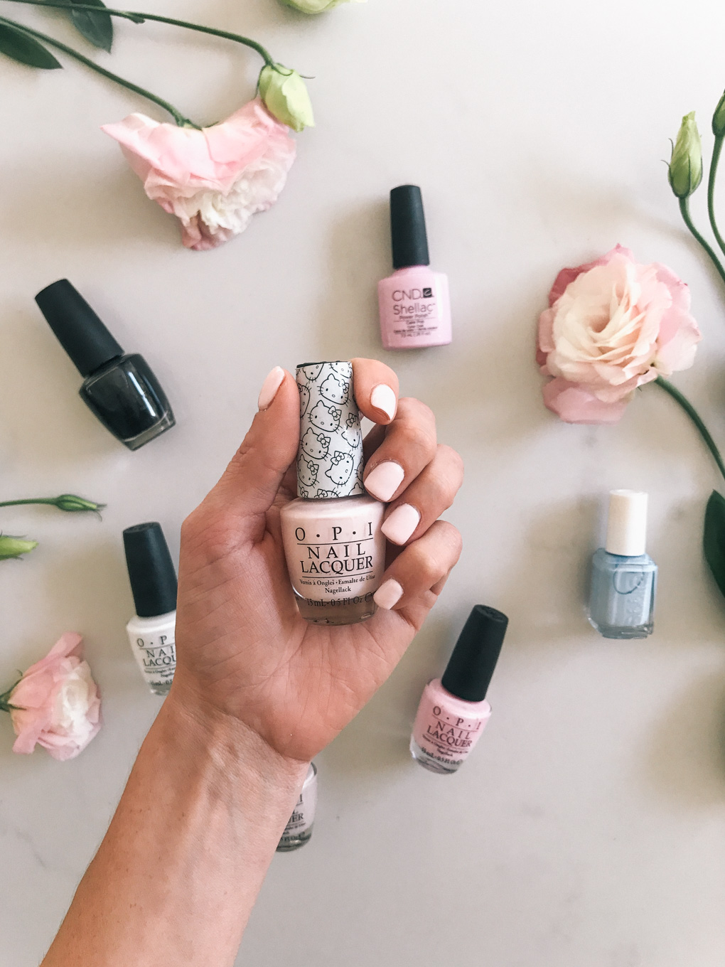 Daryl-Ann Denner shares her favorite opi essie cnd nail polish colors