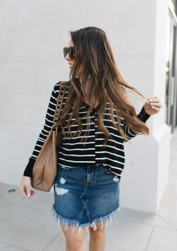 Fall Trend: The Denim Skirt