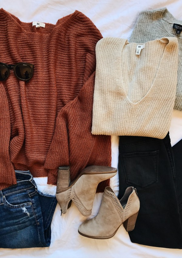 Ultimate Fall Sweater Round-Up