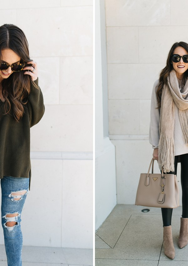 Cozy Fall Sweaters from Day to Night