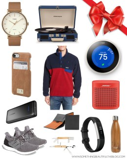 Style blogger Daryl-Ann Denner shares gift ideas for guys including dads, brother, boyfriends, husbands, grandfathers and guy friends for christmas 2017