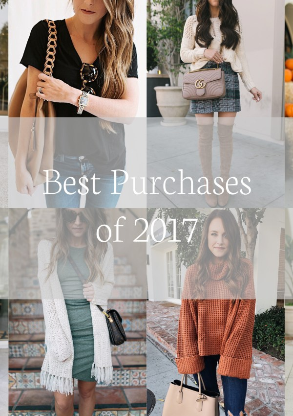 Best Purchases of 2017 + Year End Survey