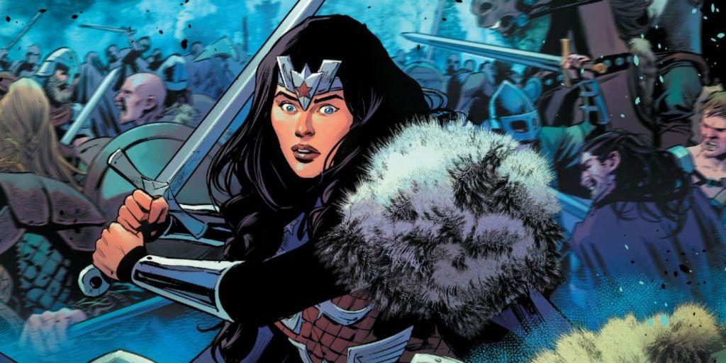 Wonder Woman literally slays in Infinite Frontier.