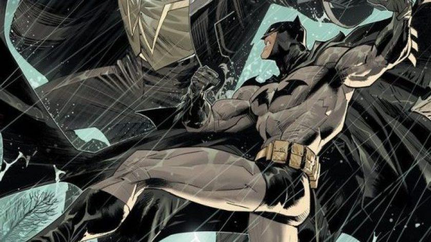 Dan Mora's art from Detective Comics #1035 this week.