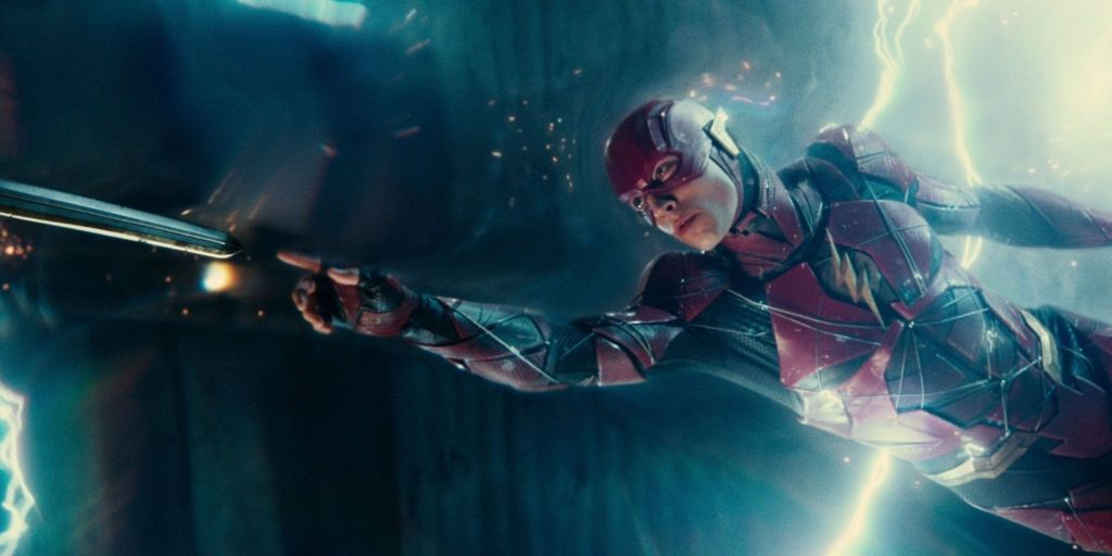 The Flash of the Snyder Cut.