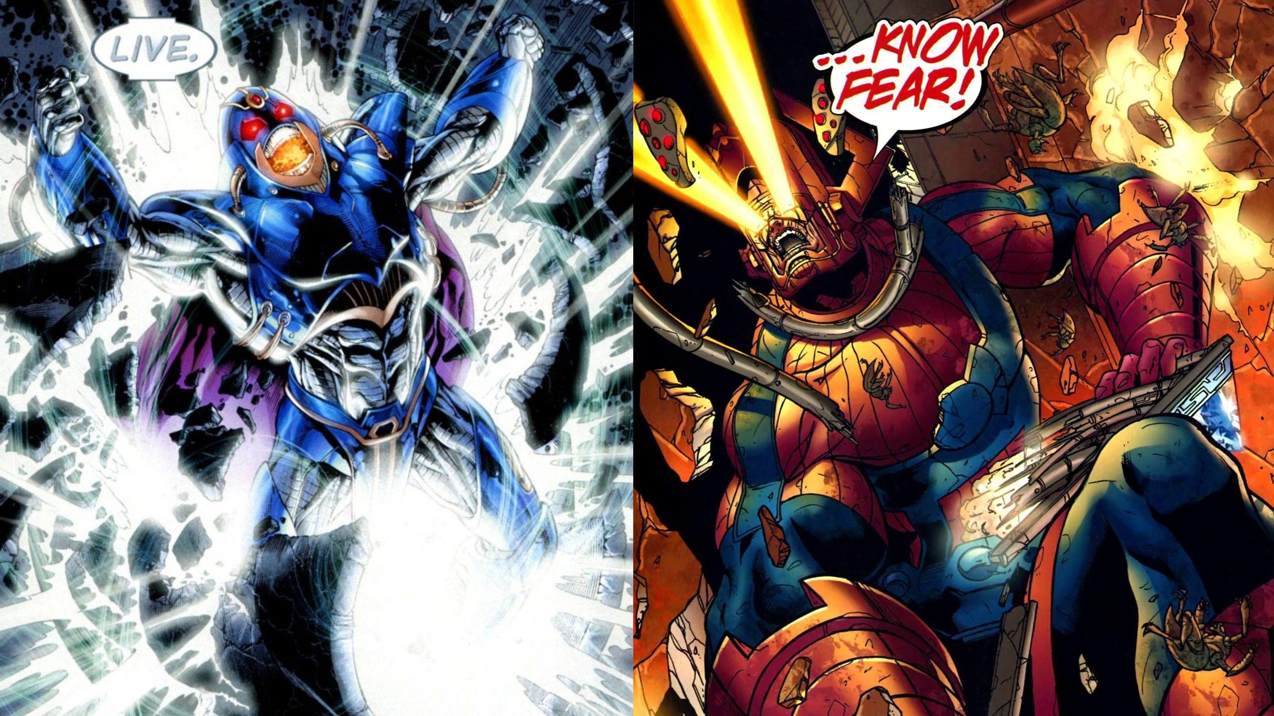 The Anti-Monitor & Galactus