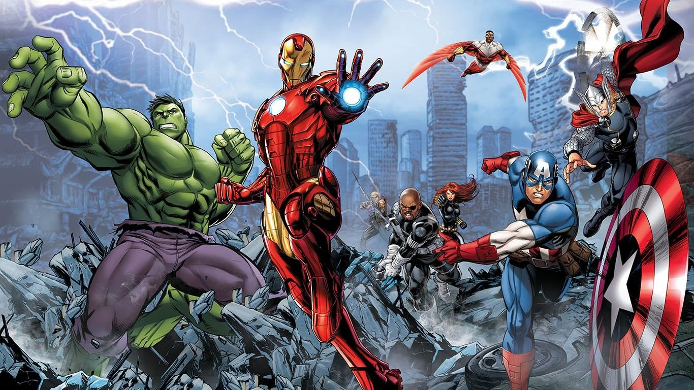 The Marvel mainstays for a DC vs Marvel NetherRealm game.