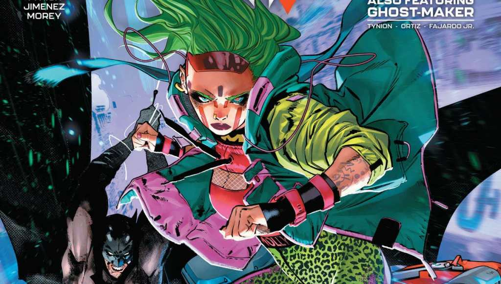 Miracle Molly is awesome in Batman #108.