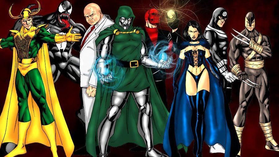 Marvel Villains for a DC vs Marvel NetherRealm game.