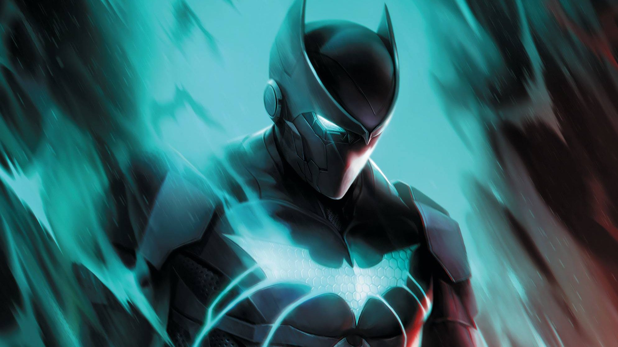 Batwing gets some much needed attention in the Next Batman : Second Son #2.