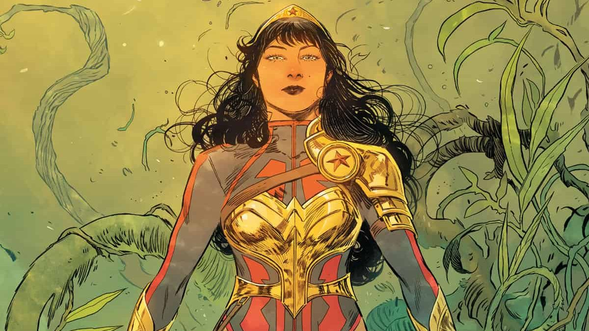 Wonder Girl is a visual treat, but not necessarily a story treat.