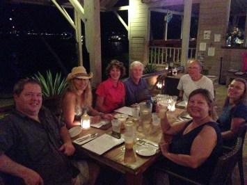 Dinner at Cooper Island Beach Club